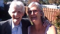 Dad and daughter reunited after 51 years