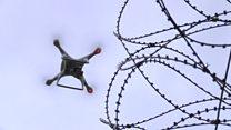 جنگ با پهپادهای قاچاقچی در آسمان زندان