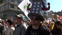 В Москве прошел многотысячный митинг противников программы реновации