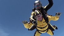 101-year-old breaks skydiving record