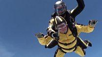 101-year-old breaks skydiving record