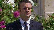 امانوئل مکرون: غرور و اعتماد را به فرانسه باز می گردان