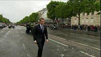 Emmanue Macron yimitswe