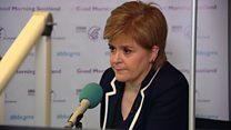 Sturgeon: Put me in Brexit negotiations