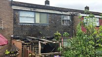 Derelict house 'making lives a misery'