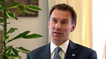 Jeremy Hunt says 'Lessons will be learnt'