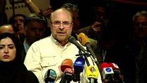 المرشح الإيراني المحافظ قاليباف ينسحب لصالح رئيسي