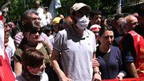 اعتصاب غذا در اعتراض به برکناری از کار بعد از کودتای نافرجام ترکیه