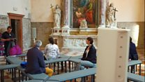 Venice chance to experiment for artist