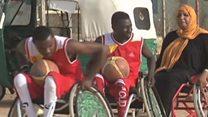 أول فريق كرة السلة لذوي الاحتياجات الخاصة في السودان