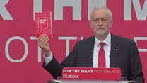Labour manifesto 'draft for better future'