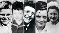 The victims of the Moors Murders