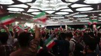 فضای دو قطبی انتخابات ایران با یک چهره میانه رو و یک شخصیت اصولگرا