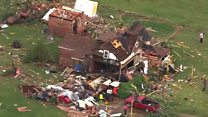 Deadly tornadoes hit Oklahoma
