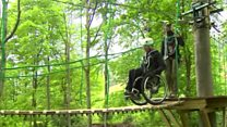 The high-ropes course for wheelchair users