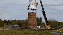 Timelapse shows windpump restoration