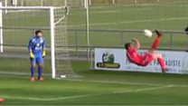Is this the craziest own goal ever?!