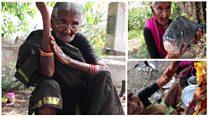 En Inde, une arrière-grand-mère fait sensation sur Internet