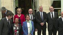 En France, le premier gouvernement Macron est tombé
