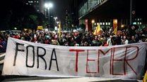 Бразилія: у Сан-Паулу протестують проти президента