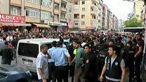 تخلیه پناهجویان افغان از منطقه سلطانقاضی استانبول