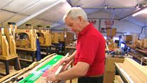 Man has been making bows in Nottingham for 55 years