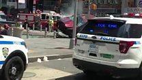 سيارة تدهس عددا من المارة في بنيويورك