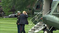 نخستین سفر خارجی ترامپ