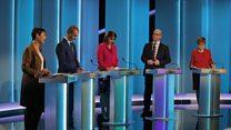 Leaders clash in TV debate: Highlights