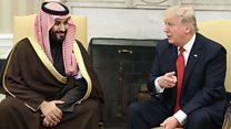 Trump oo Sucuudiga uga qaybgalaya kulanka Mareykanka iyo Muslimiinta