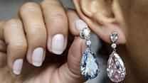 Діамантові сережки, які купили за $57 млн