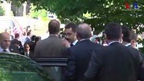 Erdoğan, Washington Büyükelçiliği konutu önündeki olayı aracından izledi