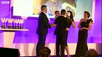 Bradley Lowery receives award for courage