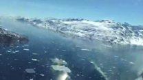 ग्रीनलैंड ग्लेशियर की हालत, नासा के कैमरे से