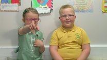 Primary school kids talk politics