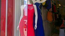 Women's dress shops return to Mosul