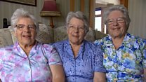 The sisters turning 80 on the same day