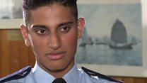 پاکستانی نژاد پولیس اہلکارہانگ کانگ میں ہیرو