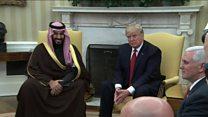Trump en Arabie Saoudite pour sa première visite étrangère