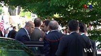 اردوغان راقب بنفسه اشتباك حرسه ومتظاهرين بواشنطن