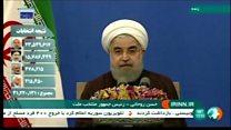 تشکر حسن روحانی از محمد خاتمی در سخنرانی پیروزی