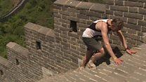 China Great Wall marathon looks painful