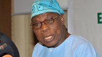 Tattalin arzikin Najeriya ya na cikin tasku—Obasanjo