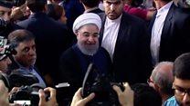 حسن روحاني د ايران ولسمشر شو