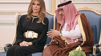 كيف استقبل السعوديون إيفانكا و ميلانيا ترامب؟