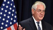 """تيلرسون """"صفقة الأسلحة مع السعودية لمواجهة التهديد الإيراني"""""""
