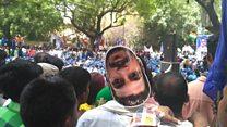 जंतर-मंतर पर भीम आर्मी का प्रदर्शन