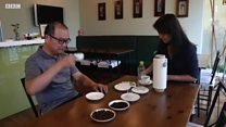 与台湾纺织业发明家共进早餐
