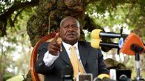 Museveni yasabye UE kuvaniraho Uburundi ibihano