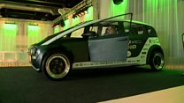 用植物造的汽车 很想要吧?